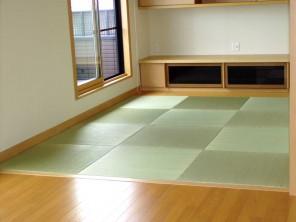カワコー(川村興産株式会社)「床暖房対応畳」施工例(1)